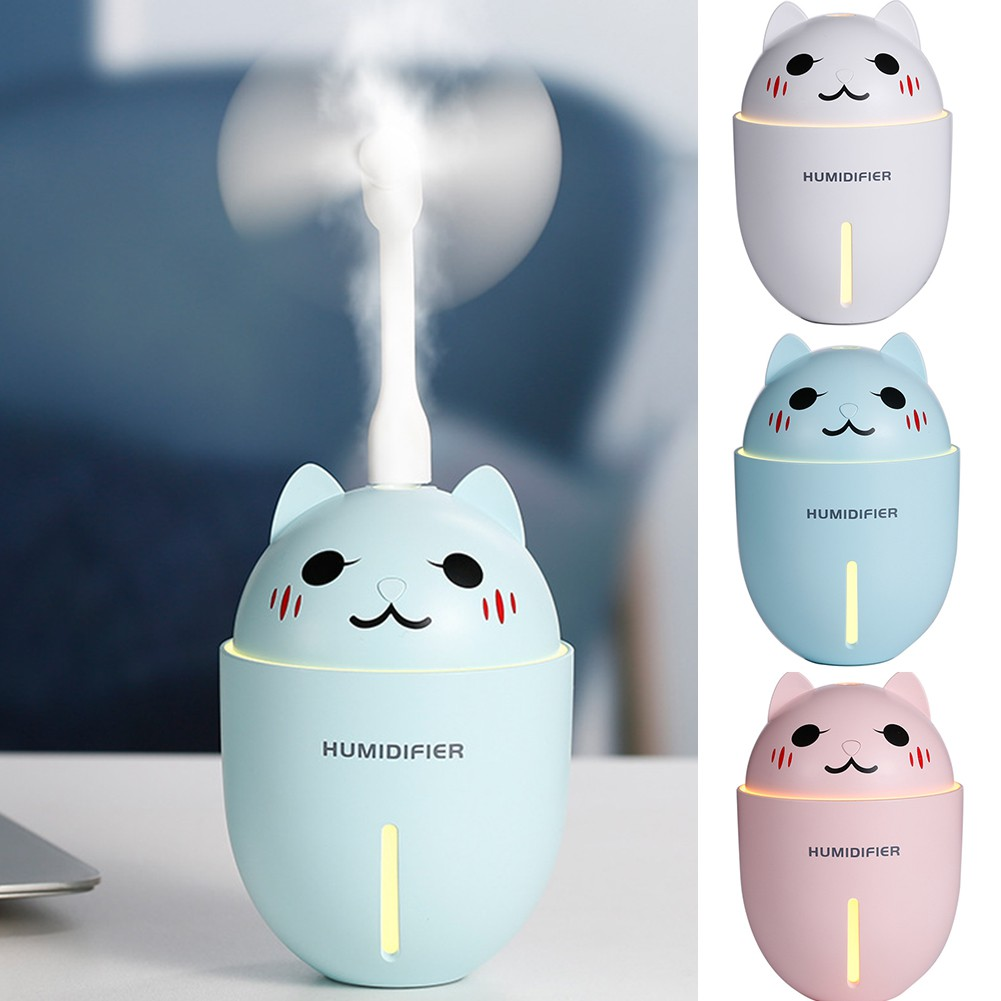 Mini Humidifier and Fan