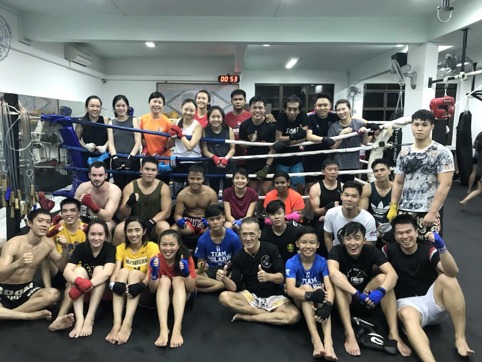 hilltop academy muay thai gyms in singapore