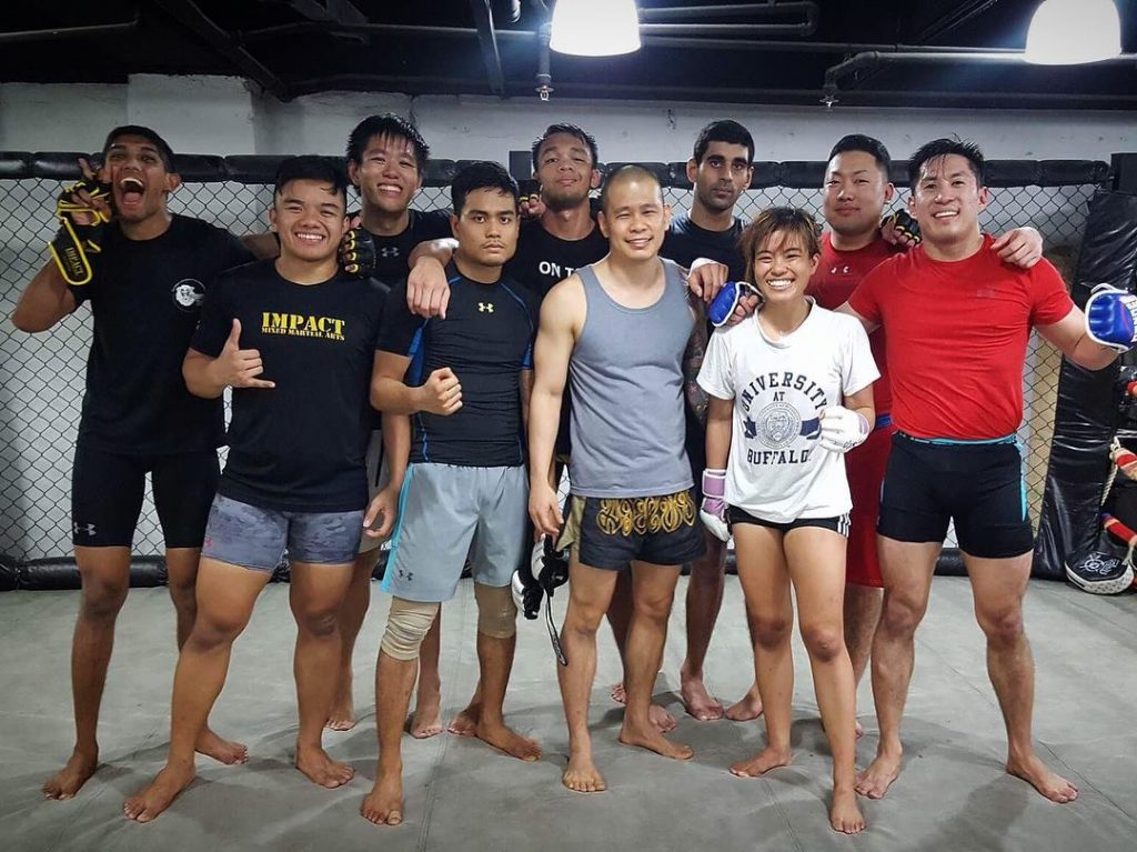 impact mma muay thai gyms in singapore