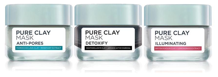 L'Oreal Clay Mask