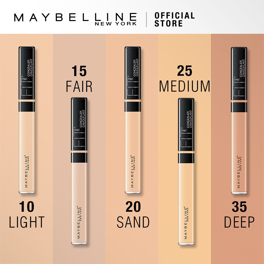 24 Drugstore Makeup Products Highly Raved By Singaporeans Maybelline Fit Me Concealer 20 Sand