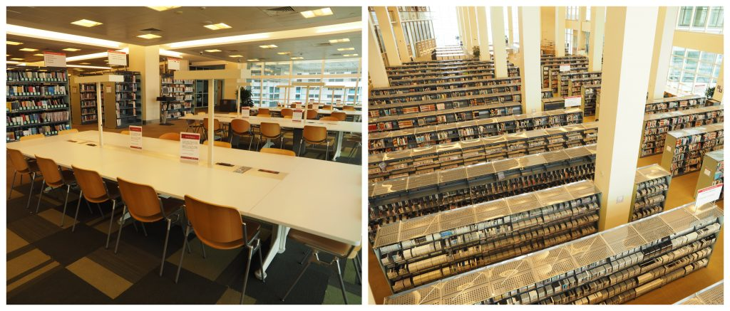 national library quiet places to study in Singapore