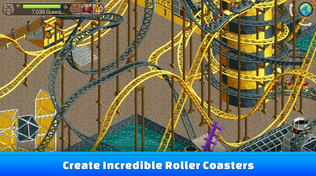 rollercoaster tycoon classic retro mobile games