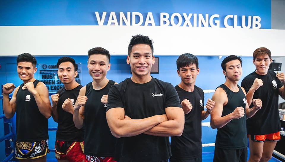 vanda boxing club muay thai gyms in singapore