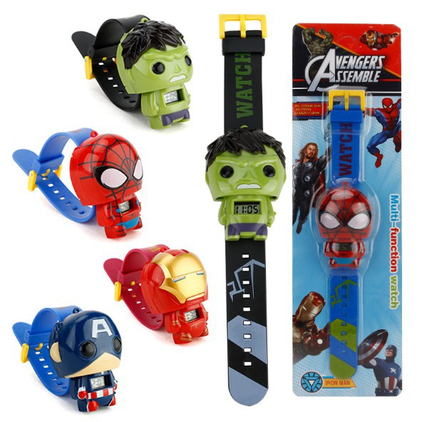 children's day gift ideas marvel avengers digital watch kids