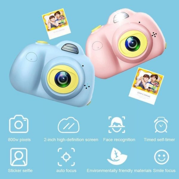 childrens day gift ideas mini dual lens kids' digital camera