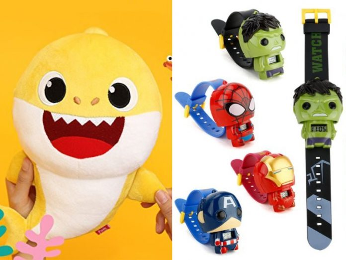 children's day gift ideas pinkfong baby shark marvel avengers