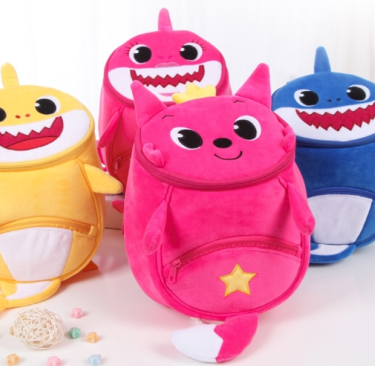 Childrens Day Baby Shark Bagpack