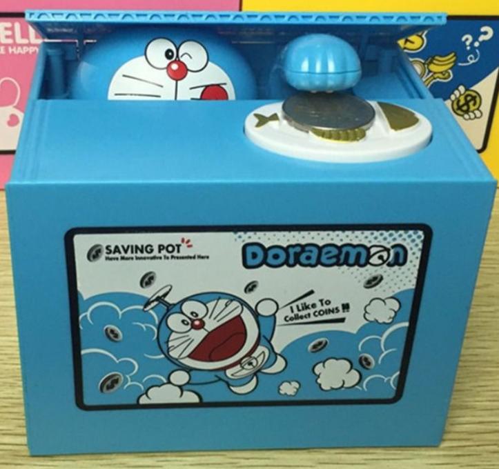 Childrens Day Doraemon Coin Box