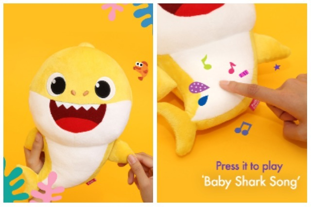 Childrens Day Pinkfong Baby Shark Plushie