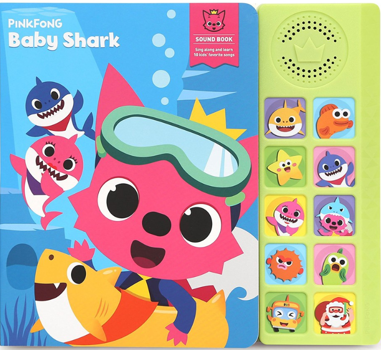 Childrens Day Pinkfong Baby Shark Song Book