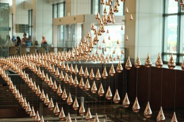 Things to do in Changi Airport Kinetic Rain