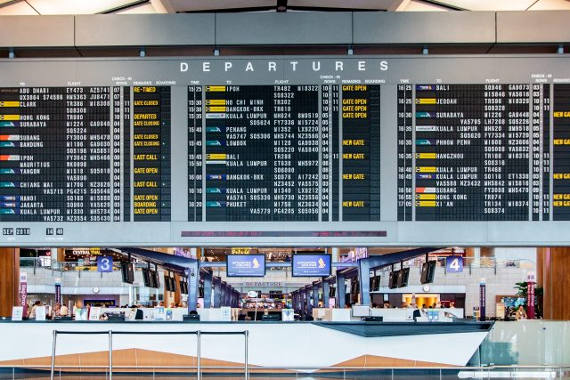 Things to do in Changi Airport Solaris Board