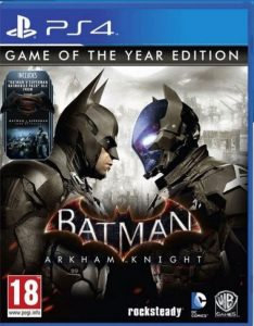 batman arkham knight box super hero game