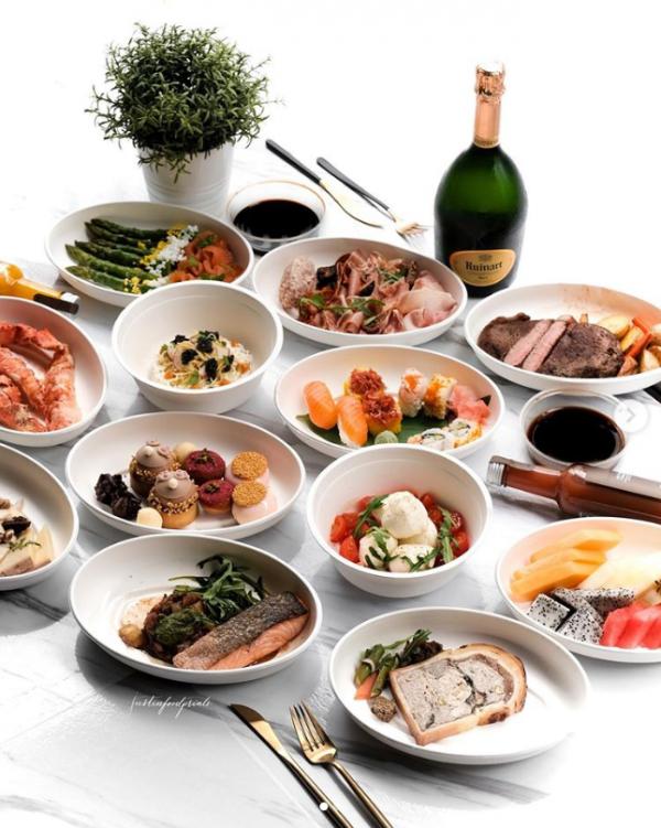 brasserie les saveurs best sunday brunch singapore