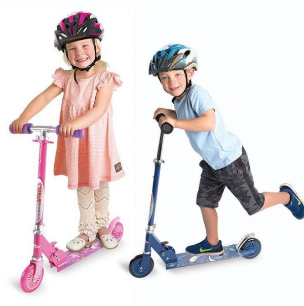 children's day gift ideas kids kick scooter foldable