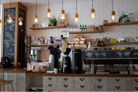 Beautiful cafe