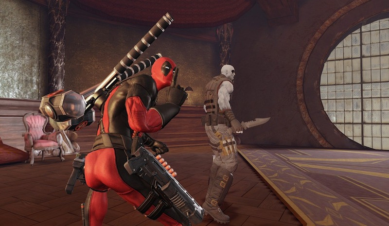 deadpool super hero game