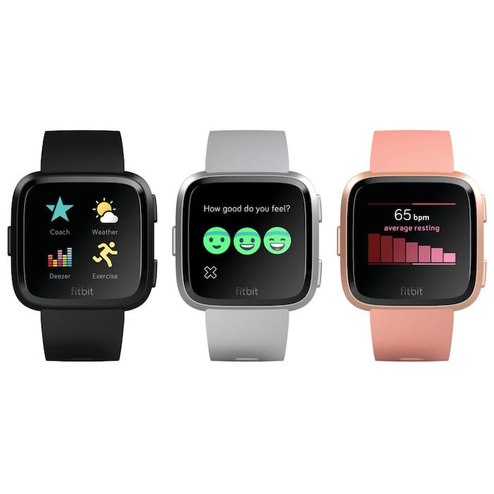 Fitbit Versa Watch Heart Rate