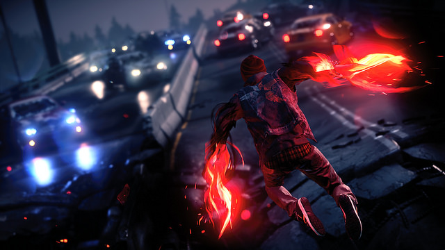 infamous second son super hero game