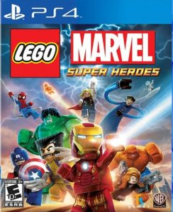 lego marvel super heroes box super hero game