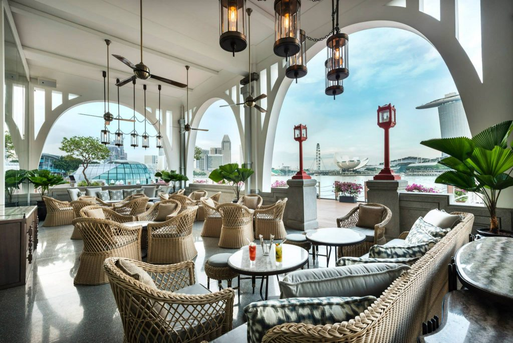 the clifford pier brunch in Singapore