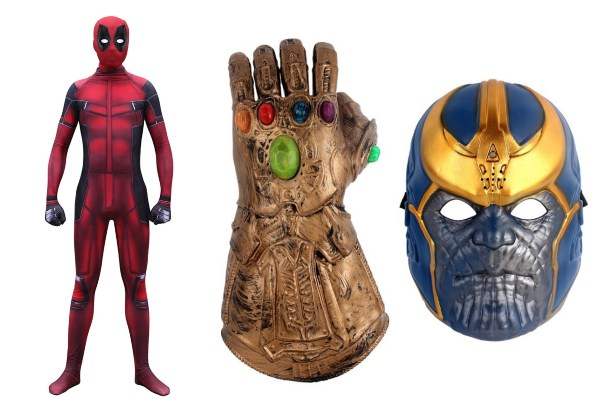 halloween costume ideas singapore adults marvel superhero thanos deadpool