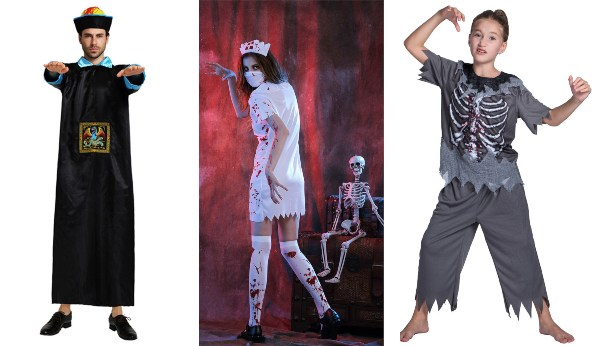 halloween costume ideas singapore family undead zombie nurse