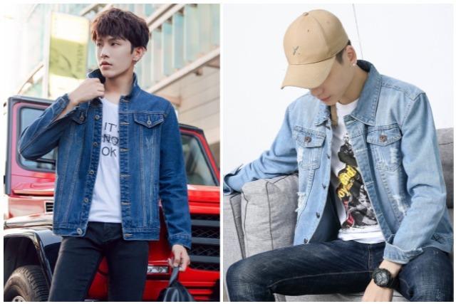 men's fashion singapore denim jacket