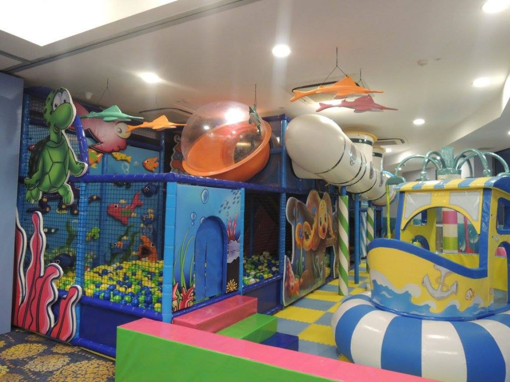 aquarius cove nautical themed indoor playground in singapore