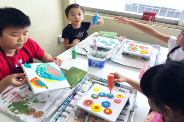 featured image art classes for kids in singapore