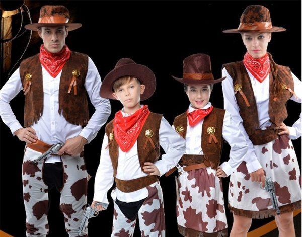 halloween costume ideas singapore family cow boy