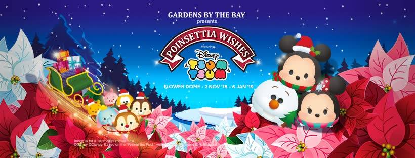 gardens by the bay tsum tsum event