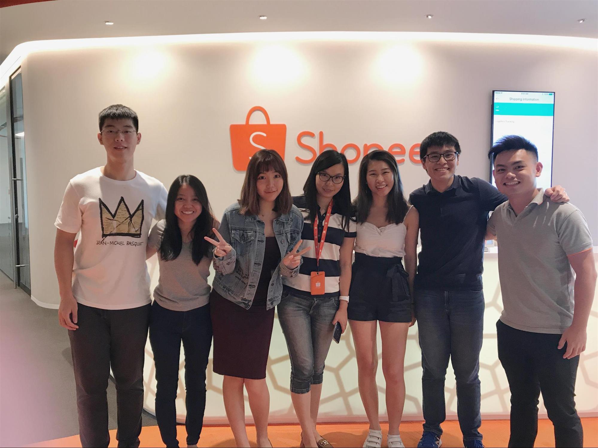 Shopee Career eCommerce Singapore Interview Lifeatshopee Auyong Yu Lin Enactus NTU Social Entrepreneurship Intute Intern Case Study