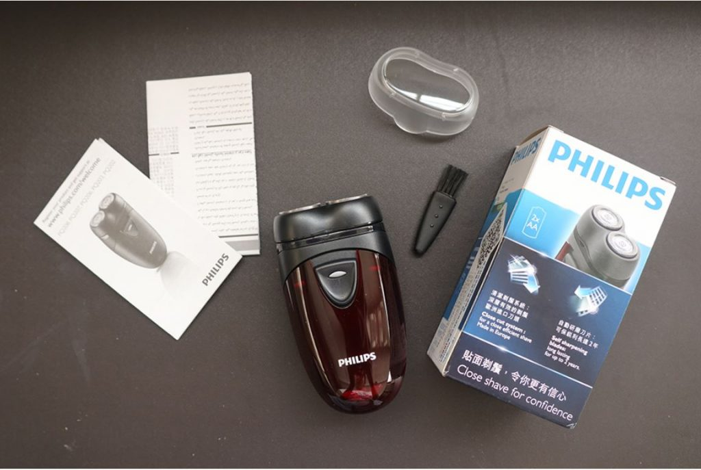 philips 2-header best electric shaver pq206