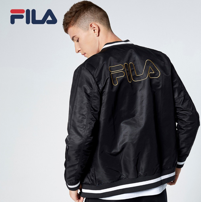 bomber jacket fila men fashion in singapore