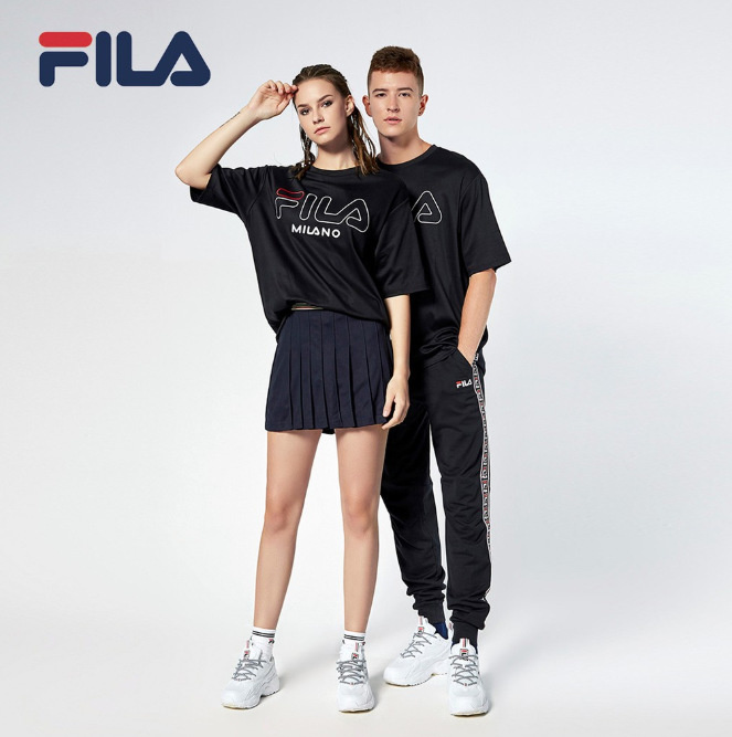 fila couple shirt men fashion in singapore