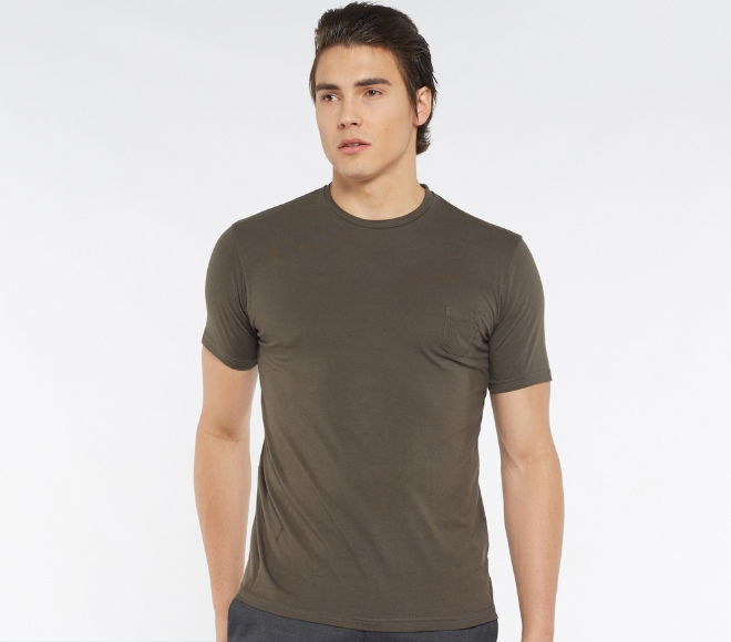 plain shirt army green men fashion singapore