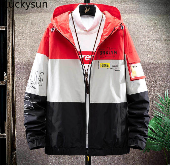 colour block windbreaker men fashion singapore