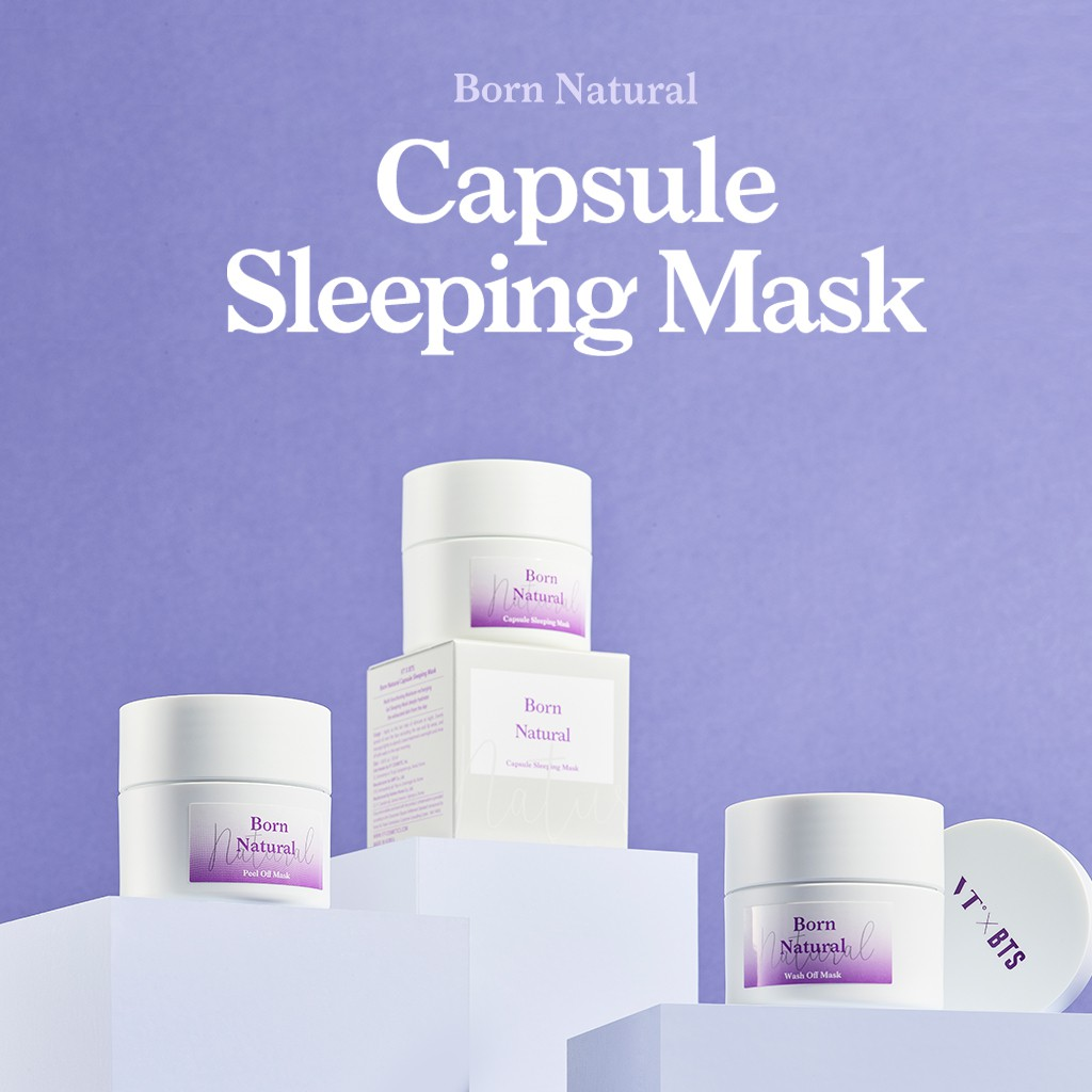 Born Natural Capsule Sleeping Mask