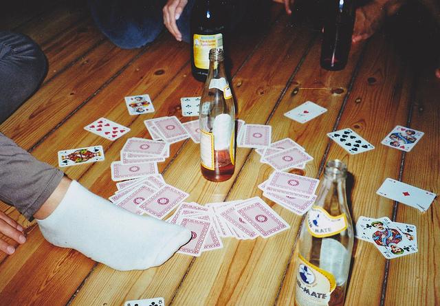 kings card drinking card game