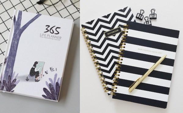 secret santa gift ideas for colleagues planner notebook
