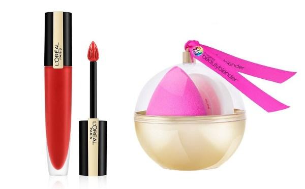 secret santa gift ideas for colleagues beauty blender sponge makeup lipstick loreal