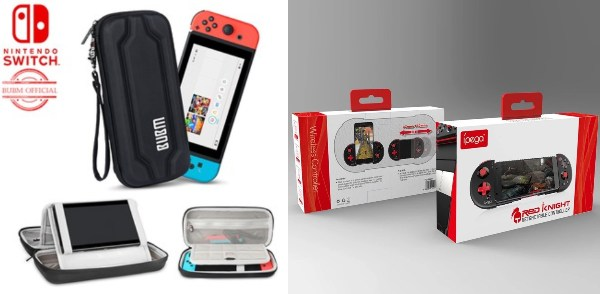 secret santa gift ideas for colleagues gamer nintendo switch case mobile phone gamepad console