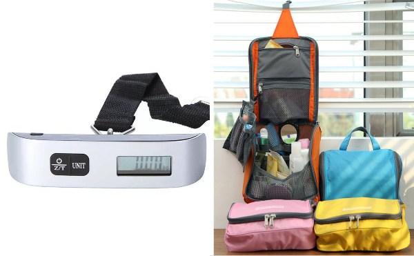 secret santa gift ideas for colleagues travel luggage scale toiletries bag