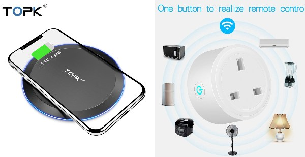secret santa gift ideas for colleagues tech wirelss charging pad charger smart plug