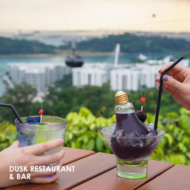 dusk romantic restaurants singapore