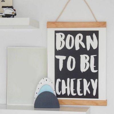 born to be cheeky baby room decor
