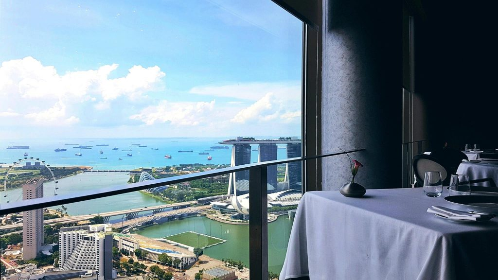 jaan romantic restaurants singapore