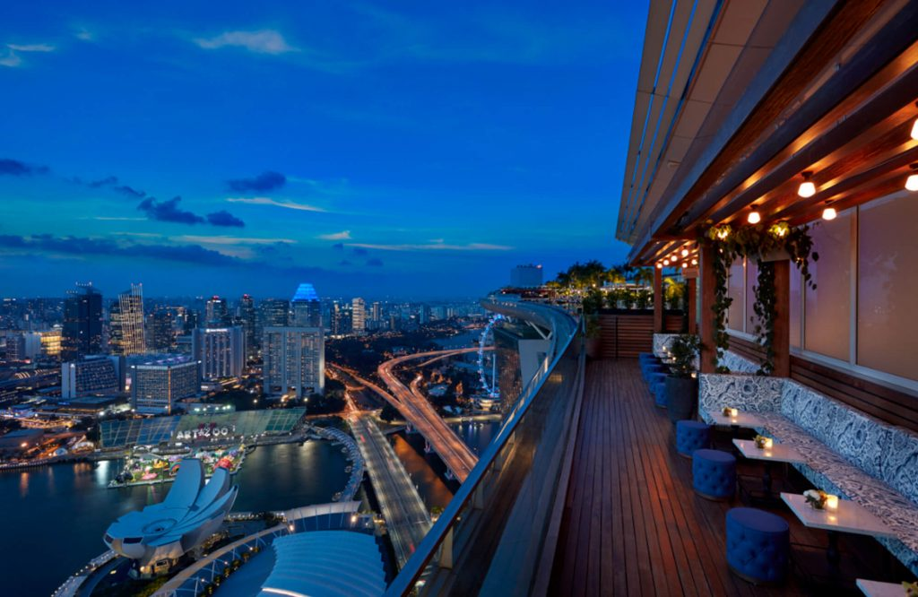 lavo romantic restaurants singapore
